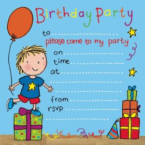 Party Time party Invitation